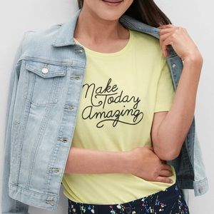 NWT Banana Republic Graphic Short Sleeve T-Shirt